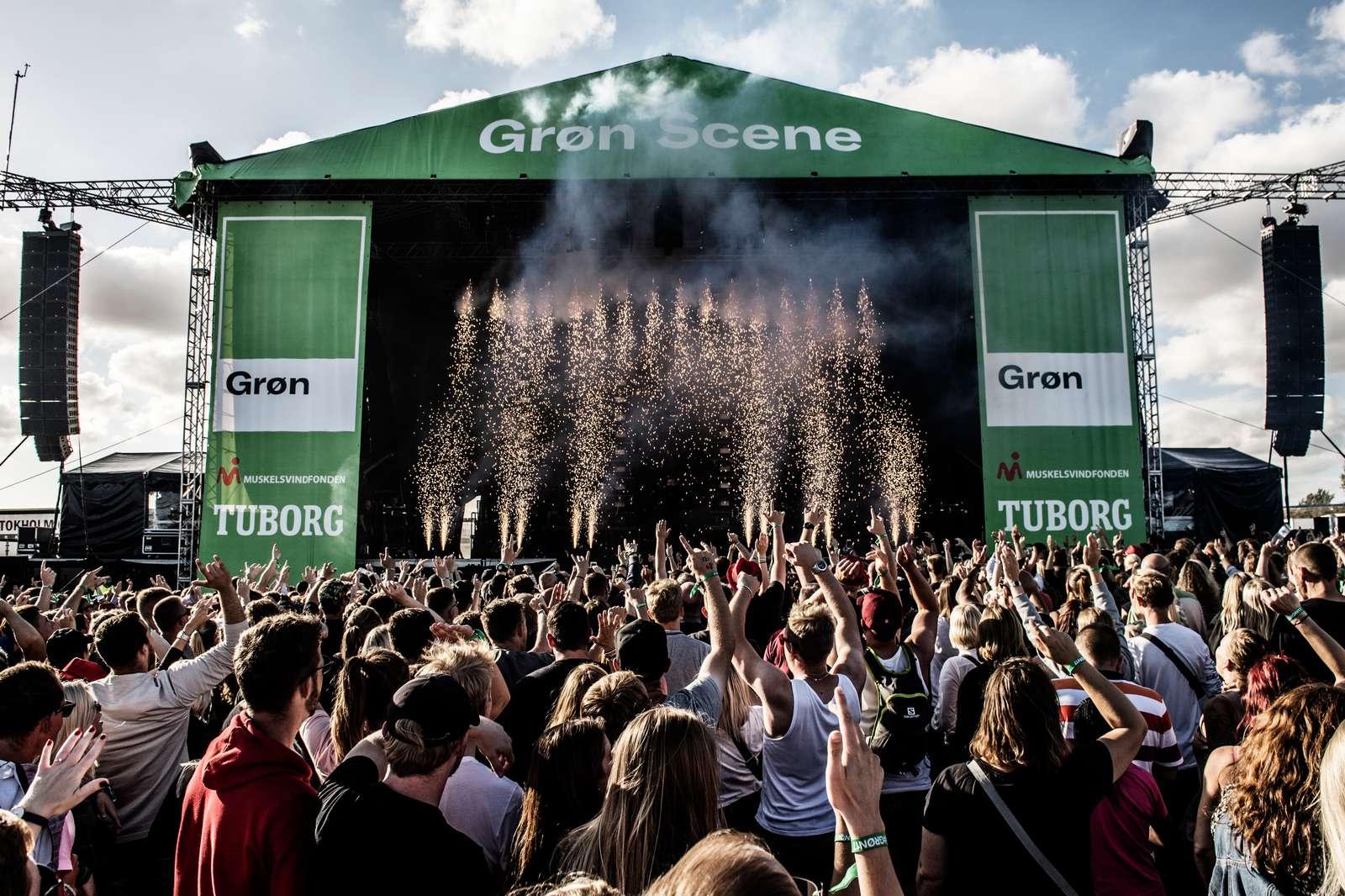 grøn koncert amager spilleplan