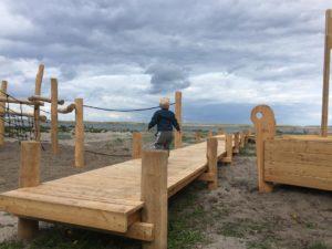 Ny legeplads på Amager strandpark
