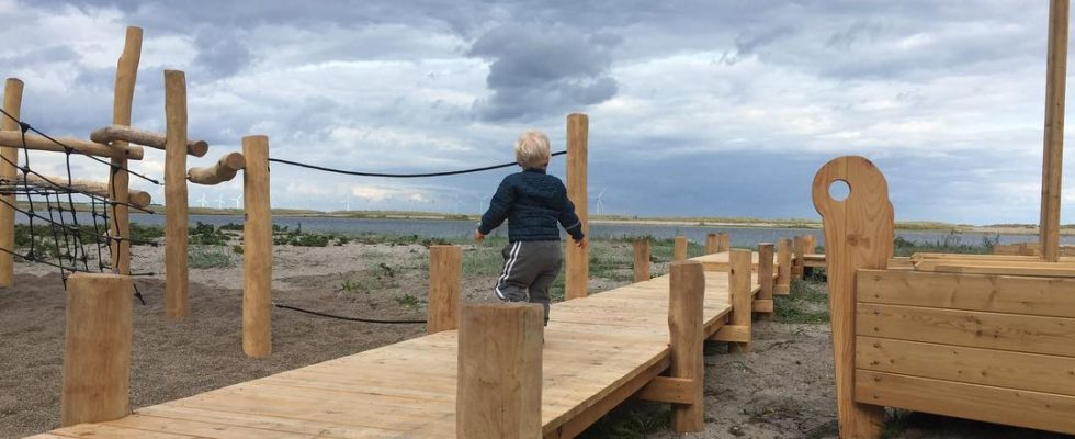 Amger strandpark legeplads