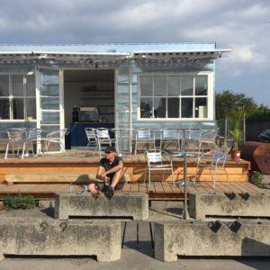 Ny Café ved Slusen