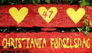 Christiania fylder 47 år – her er programmet