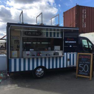 Danmarks første bøfsandwich på Reffen