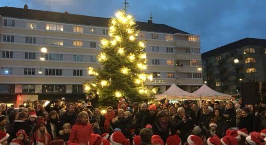 christianshavns torv juletræ
