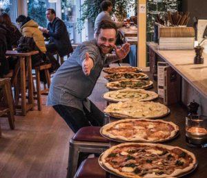 Gratis pizze hos gorm's på Amagerbrogade